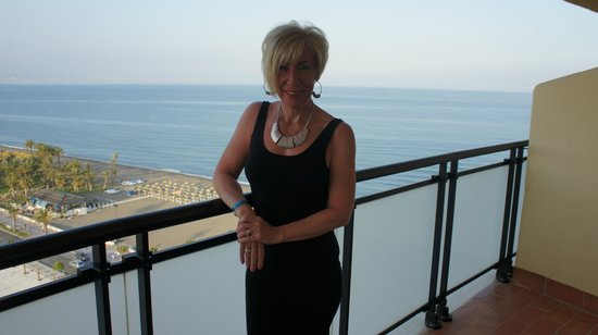 Hotel Puente Real: Picture from our balcony