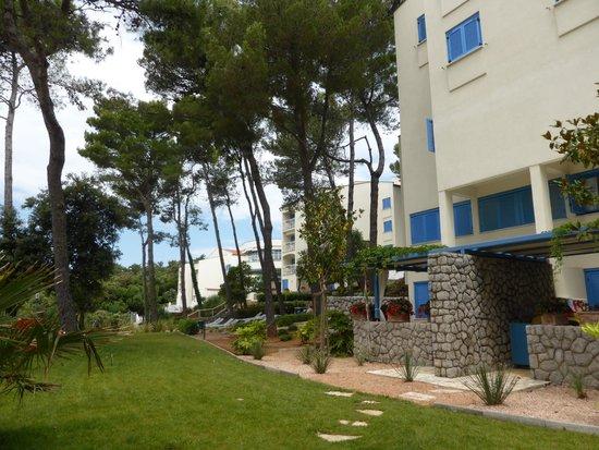 Valamar Koralj Romantic Hotel : Ostansicht