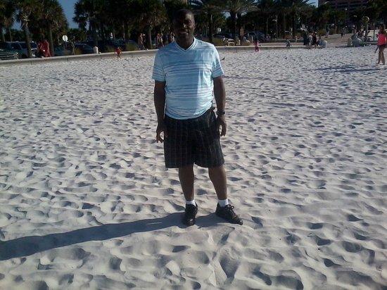Beach Walk: white sands