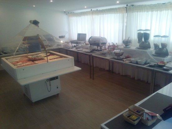 Hotel Mon Repos Hermitage: La nuova sala colazione
