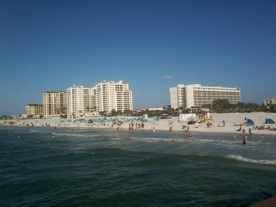 Beach Walk : warm water