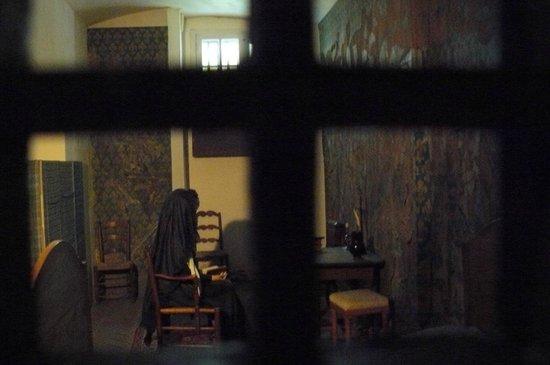 Conciergerie: Reconstitution de la cellule de Marie-Antoinette