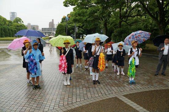 Hiroshima Peace Memorial Park : Cranes for Peace