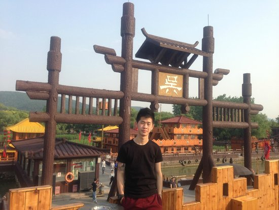 Water Margin and the Three Kingdoms Scenic: Caocao's Camp