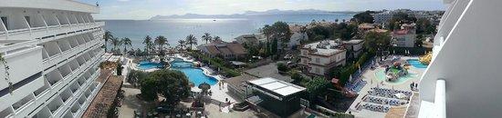Hotel Condesa de la Bahia: vue de la chambre