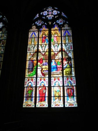 Kölner Dom: Stained glass windows