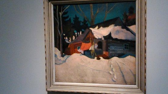 Szepmuveszeti Muzeum: Stanisław Ignacy Witkiewicz - Zimowy krajobraz w Zakopanem