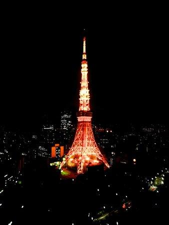 The Prince Park Tower Tokyo : Blick aus der bar 33. Etage - Kopie Eifelturm