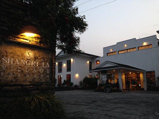 Shangri-La Village Pokhara: Entrance