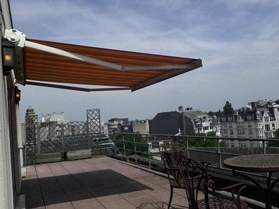 Eurostars Montgomery: Terrace