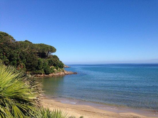 Hotel Del Golfo : Strand und Meer