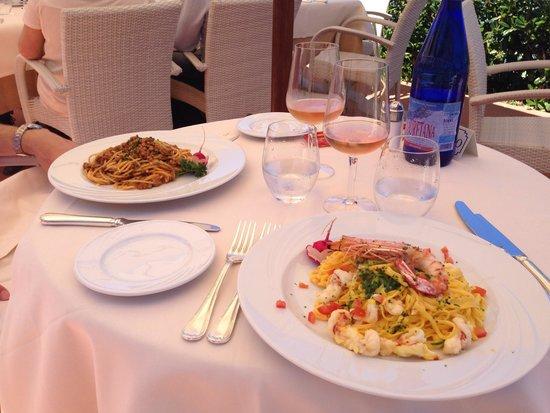 Hotel Del Golfo : Pasta!!!