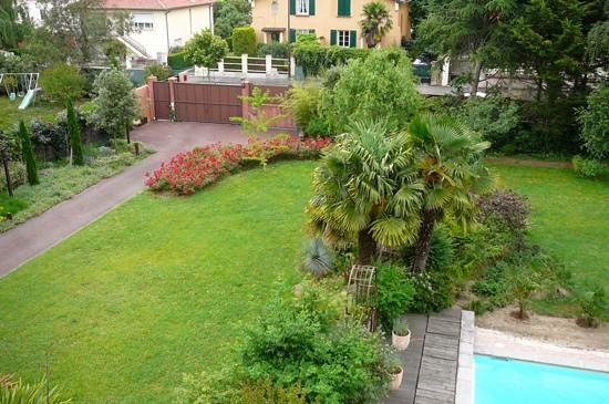 Villa Danieli : view from our room to the garden