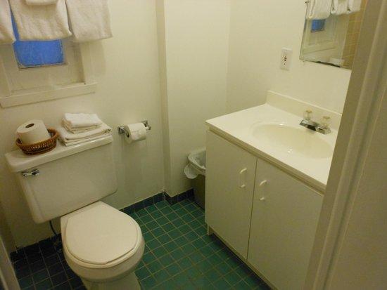 Hotel Manoir des Remparts: salle de bain