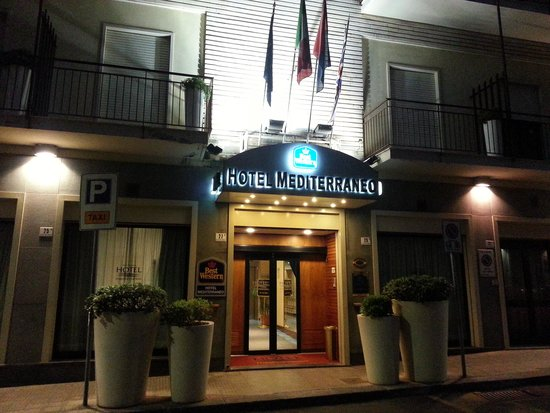 Best Western Hotel Mediterraneo: Façade de l'hôtel