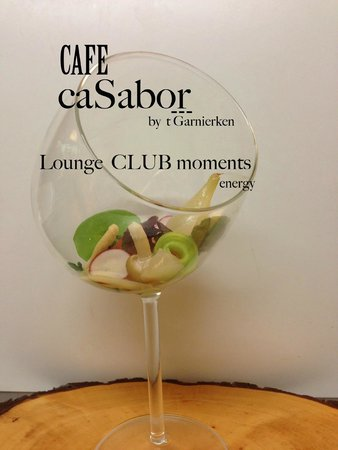 't Garnierken: cafe Casabor is our lounge with our lounge music