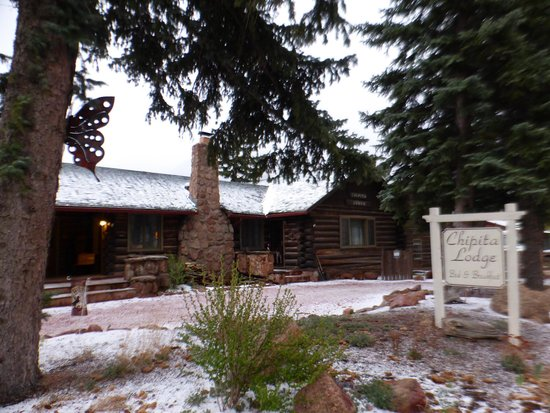 Chipita Lodge Bed and Breakfast : Snowy May