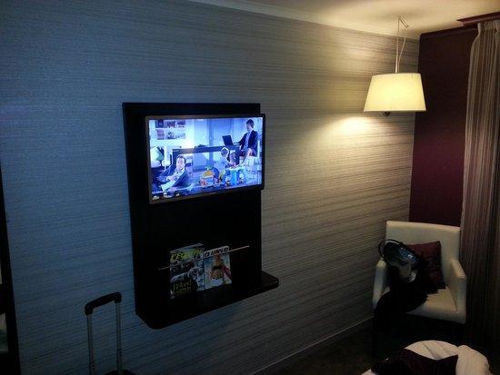 Best Western Allegro Nation: room tv