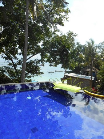 Song Lambung Beach Hut : Pool view
