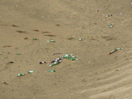 Sam Sand Dunes: Residuos