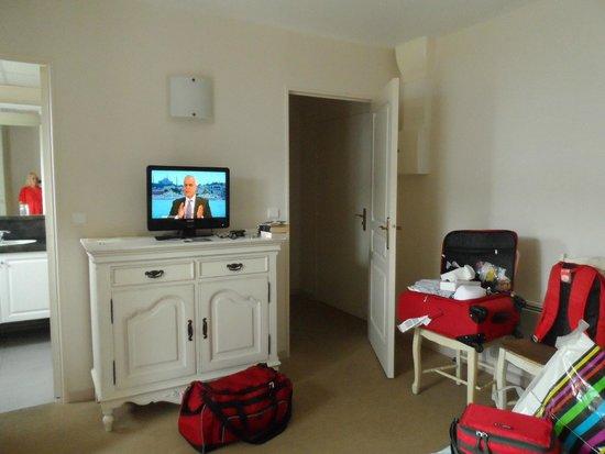 La Closerie Honfleur : Very comfy room