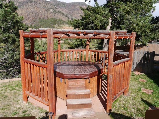 Chipita Lodge Bed and Breakfast: Jacuzzi