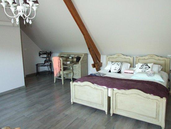 Le Prieure Chambres d'hotes : Chambre N°5