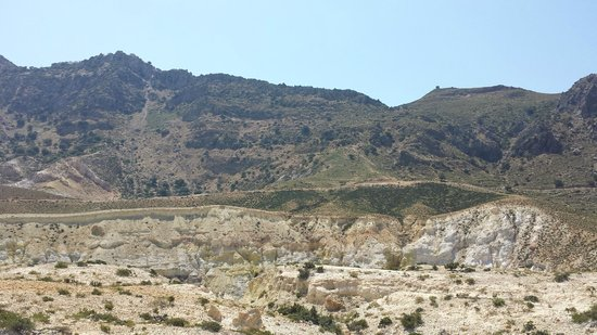 Nisyros: The volcano