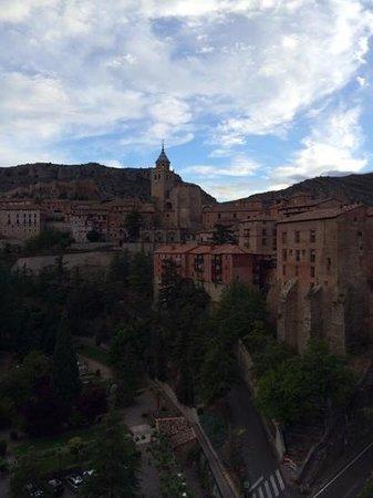 Hotel Albarracin: vistas desde la habitacion del hotel.