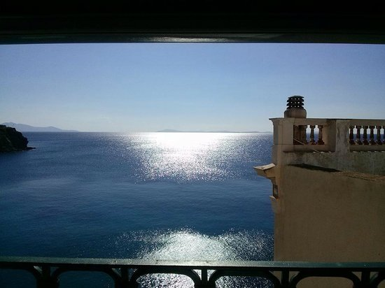 Hotel Ploes : Sea View room