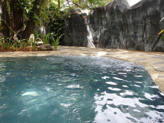 Plantation Bay Resort And Spa : プールの滝