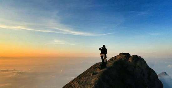 Merapi Volcano: Summit