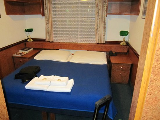 Botel Admiral : bed