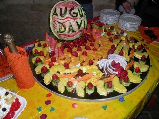 Agriturismo Il Casolare : buffet di frutta