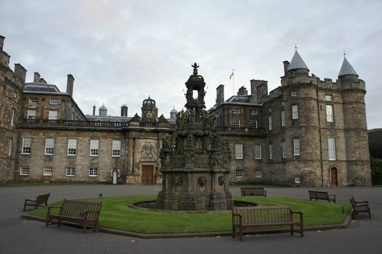 Palace of Holyroodhouse: Το Παλάτι