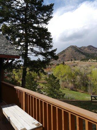 Chipita Park, CO: View from rear veranda
