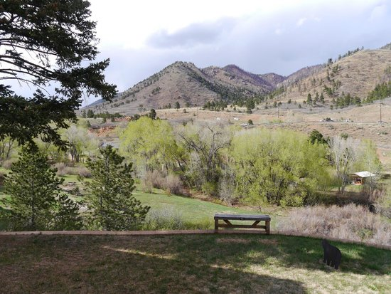 Chipita Park, CO: Sit & relax in the garden
