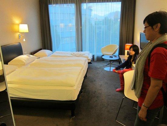 Radisson Blu Hotel, Luzern: Inside room