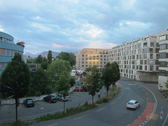 Radisson Blu Hotel, Luzern: View from room