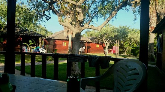 Els Prats Village: Vista desde el porche