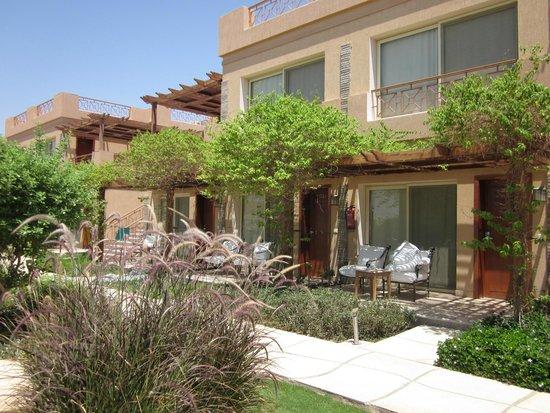 Shams Prestige Abu Soma Resort : Zimmer mit eingeschränkter Meersicht