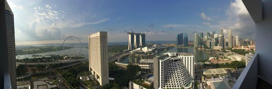 Pan Pacific Singapore: Our room, 3415. OMG!!! Breathtaking view!!!