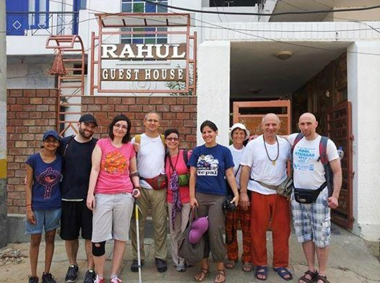 Rahul Guest House: Our New Group Guest
