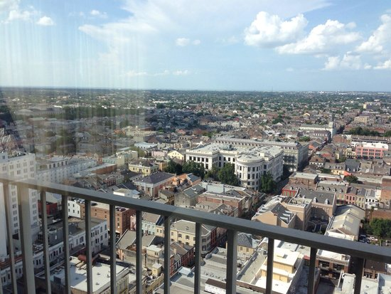 New Orleans Marriott : 29th floor corner