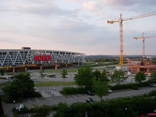 Wyndham Stuttgart Airport Messe: View from room