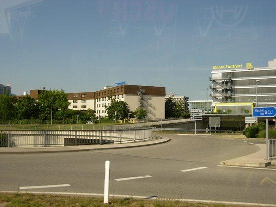 Wyndham Stuttgart Airport Messe: Hotel buildings (left)