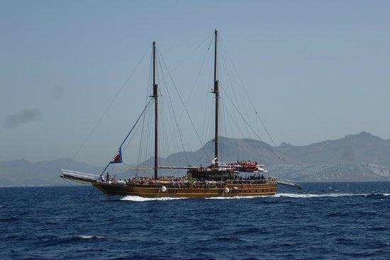 Sun Palace Resort & Spa: bateau kaiki