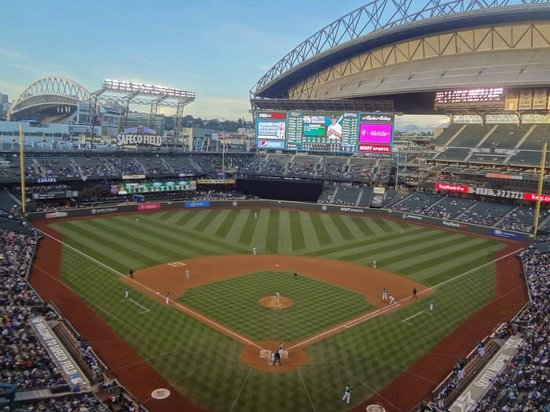 Overview of Safeco Field