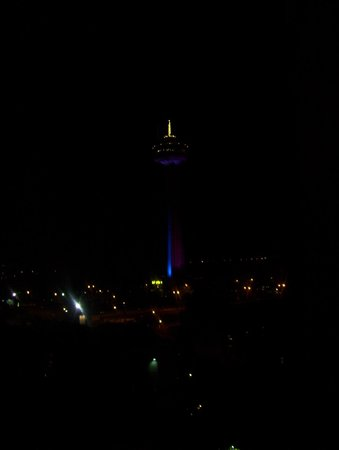 DoubleTree Fallsview Resort & Spa by Hilton - Niagara Falls: skylon view from room