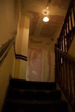 Metropole hotel: The stairwell